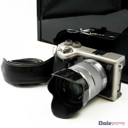 Used Hasselblad Lunar Camera Black Leather Edition & 18-55mm f3.5/5.6 OSS Lens