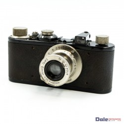 Used Leica I 1930 (28848) + Elmar 50mm f3.5 5cm lens + Leather case 35mm film camera