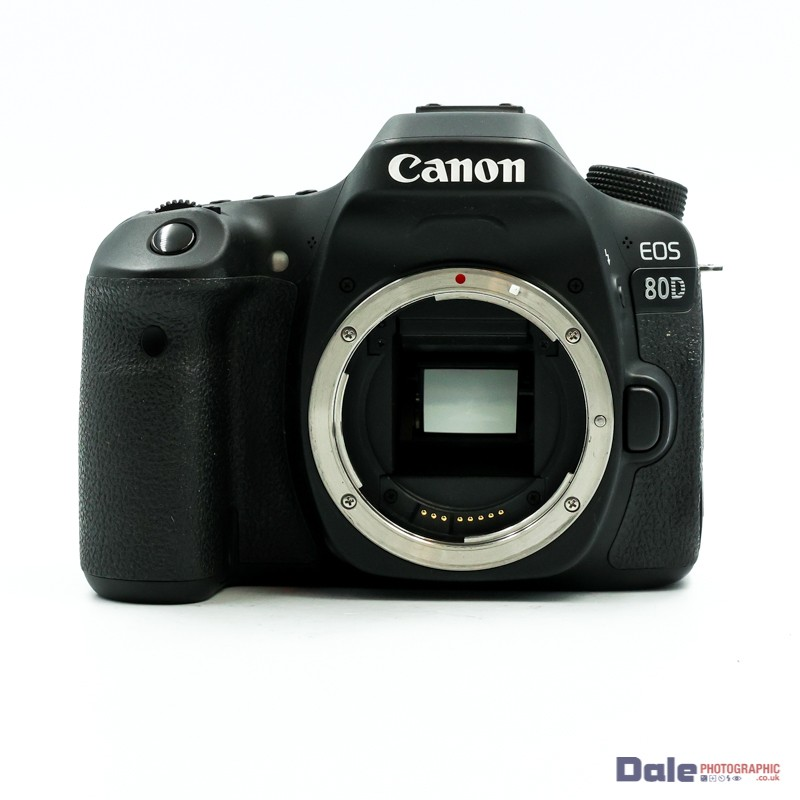 Used Canon EOS 80D 15252 Shots