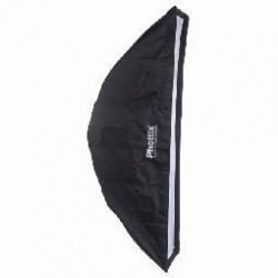 Phottix 2 in 1 Strip Softbox With Grid 35x140cm