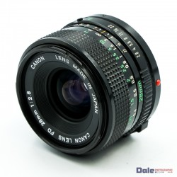 Used Canon FD 28mm f2.8 Lens
