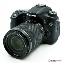 Used Canon EOS 70D + 18-135mm f3.5/5.6 IS STM Lens