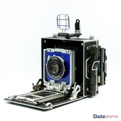 Used MPP 5x4 Micro Technical Camera + Colpal Polaroid 127mm f4.7 Lens + Viewing Box