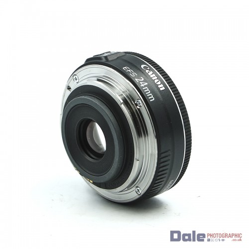 Used Canon EF-S 24mm f2.8 STM