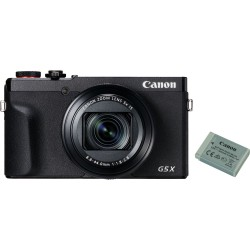 Canon PowerShot G5X MKII camera and Spare Battery