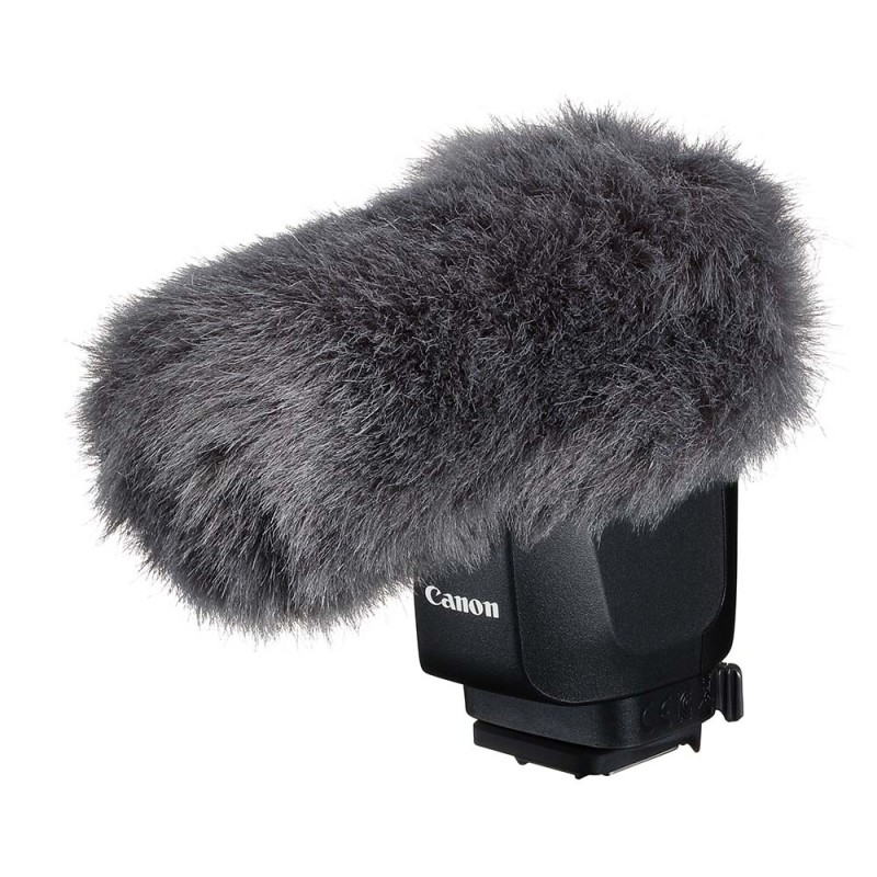 Canon Multi-Function Shoe Directional Stereo Microphone DM-E1D