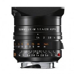 Leica Summilux M 28mm f1.4 ASPH Lens black