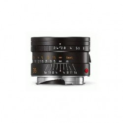Leica Summarit-M 35mm f2.4 Asph Lens - Black