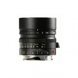 Leica 50mm f1.4 Summilux - M ASPH Black Lens (6 BIT)