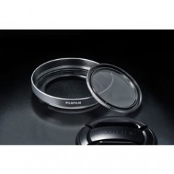 Fujifilm X20/X30 Lens Hood and Filter Kit - Silver