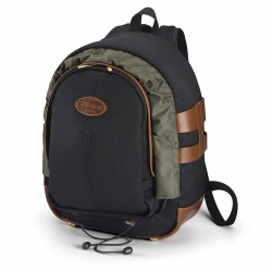 Billingham 25 Rucksack Black Tan