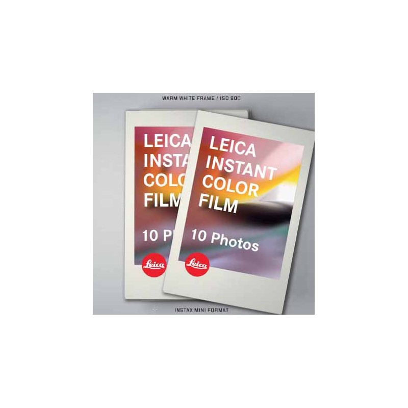 Leica Sofort Colour Film Double Pack (2x10 Shots)