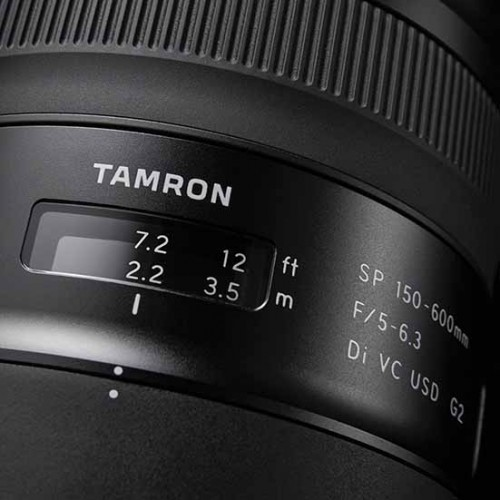 Tamon SP 150-600mm f5-6.3 Di VC USD G2 Lens Canon