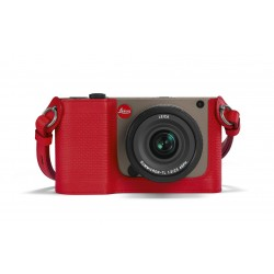 Leica Protector for TL red leather