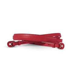 Leica carrying strap red 18577