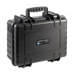 B&W International Type 4000 Outdoor Case - Black with dividers
