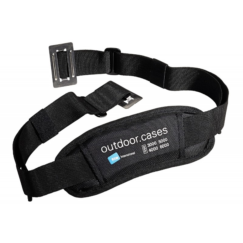 B&W International Shoulder Strap for the TYPE 3000, 4000, 5000, 6000, 6500 cases