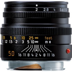 Leica 50mm f2 Summicron - M Black Lens (6 BIT) 11826