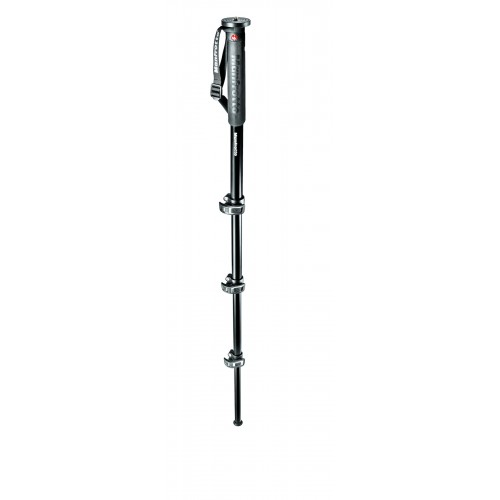 Manfrotto XPRO 4-Section photo monopod, aluminum with Quick power lock