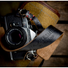Hawkesmill  Westminster Leather Camera Strap (Black) 120cm