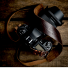 Hawkesmill Westminster Leather Camera Strap (Brown) 120cm