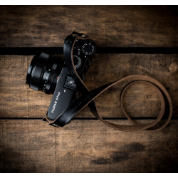 Hawkesmill Kensington Leather Camera Strap (Black)