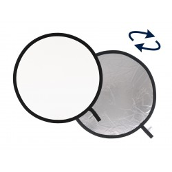 Lastolite Collapsible Reflector 95cm Silver/White
