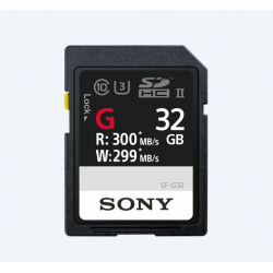 Sony G Series 32GB SDHC UHS-II Card - 299MB/s