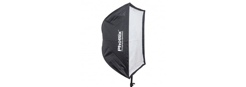 Phottix Soft Boxes and Umbrellas