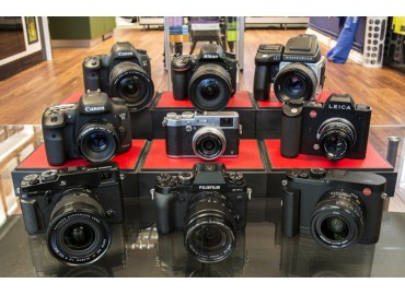 Demo Cameras at Dale Photographic, Leeds