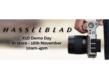 Hasselblad Demo Day Thursday 16th November 2018!